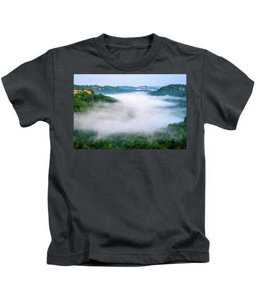 Where Eagles Fly Kids T-Shirt