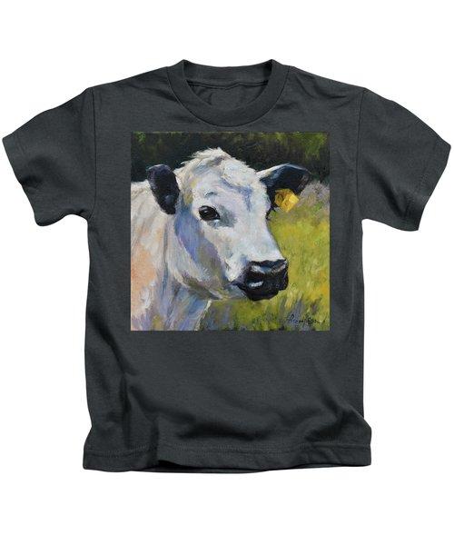 White Steer Kids T-Shirt