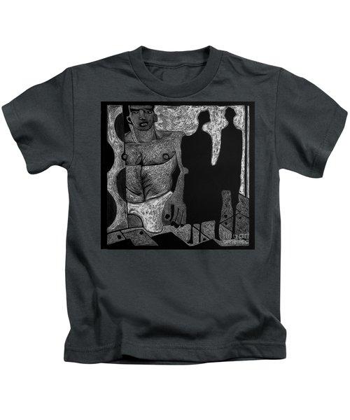 Viewing Madawask. Kids T-Shirt
