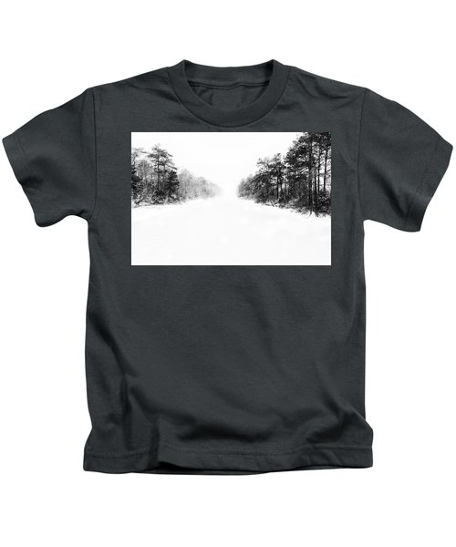 Winter Afternoon Kids T-Shirt