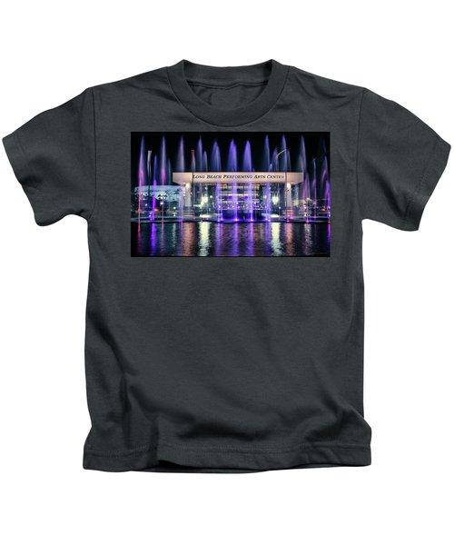 Winter At Long Beach Performing Arts Kids T-Shirt