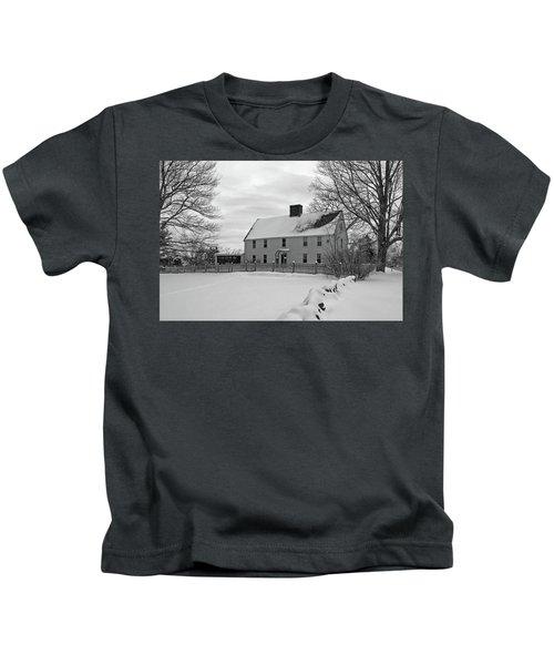 Winter At Noyes House Kids T-Shirt