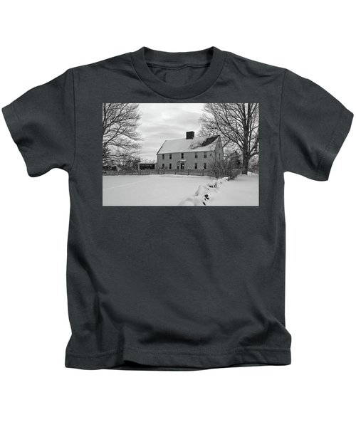 Winter At Noyes House Kids T-Shirt