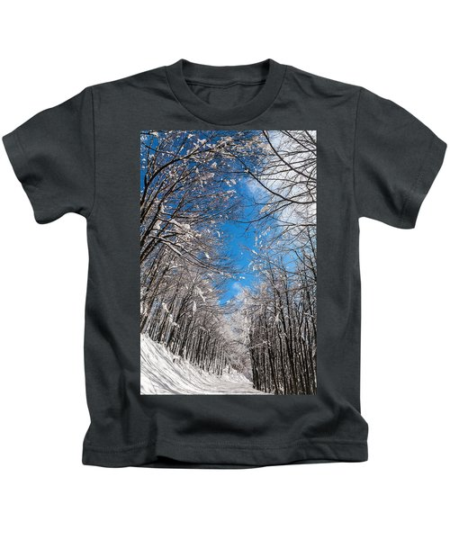 Winter Road Kids T-Shirt