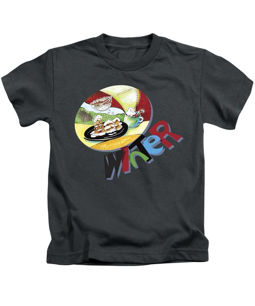 Winter Snack2 Kids T-Shirt