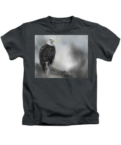 Winter Watcher Kids T-Shirt