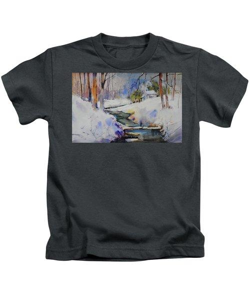 Winter Wilderness Kids T-Shirt