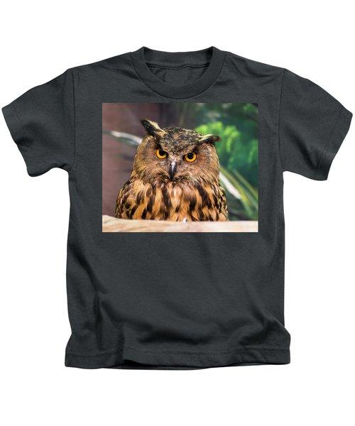 Wisdom In Adversity Kids T-Shirt