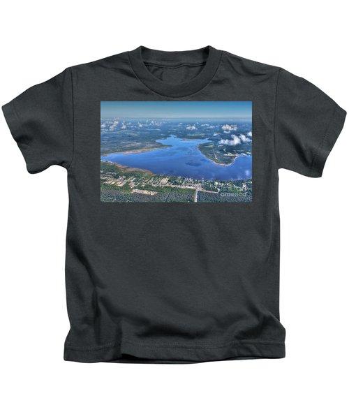 Wolf Bay Alabama Kids T-Shirt