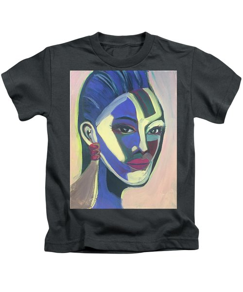 Woman Of Color Kids T-Shirt