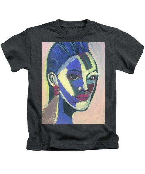 Woman Of Color Kids T-Shirt