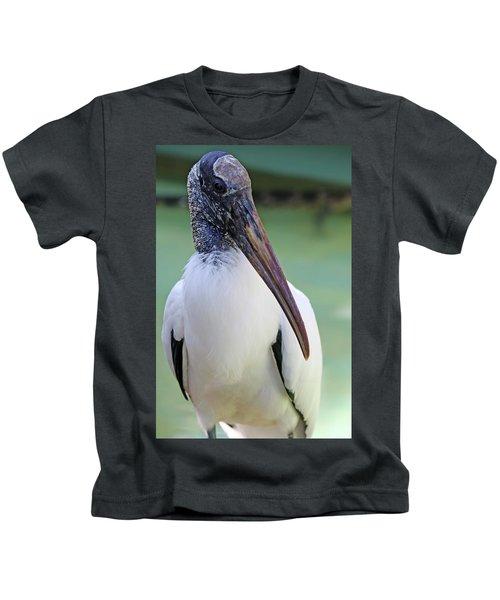 Wood Stork 40312 Kids T-Shirt