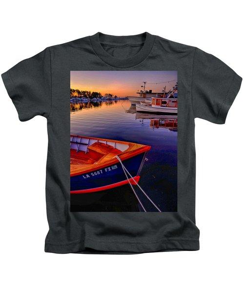 Wooden Boats Kids T-Shirt