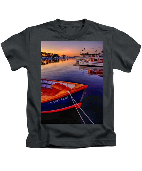 Wooden Boats Kids T-Shirt
