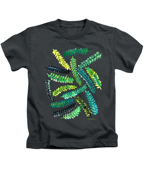 Woodland Ferns Kids T-Shirt