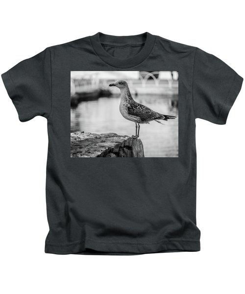 Young Seagull Kids T-Shirt