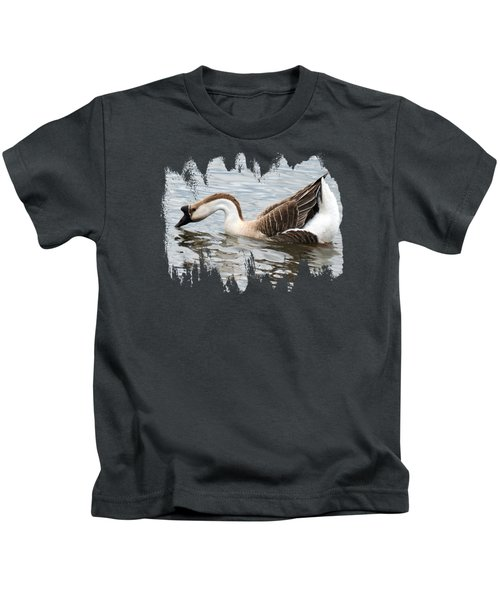 Z Posed African Goose Kids T-Shirt