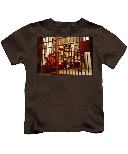 Aerosmith - In A Cage 1980s Kids T-Shirt by Epic Rights