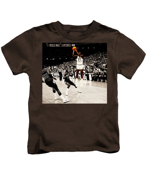 Air Jordan Unc Last Shot Kids T-Shirt