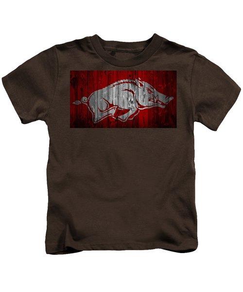 Arkansas Razorbacks Barn Door Kids T-Shirt