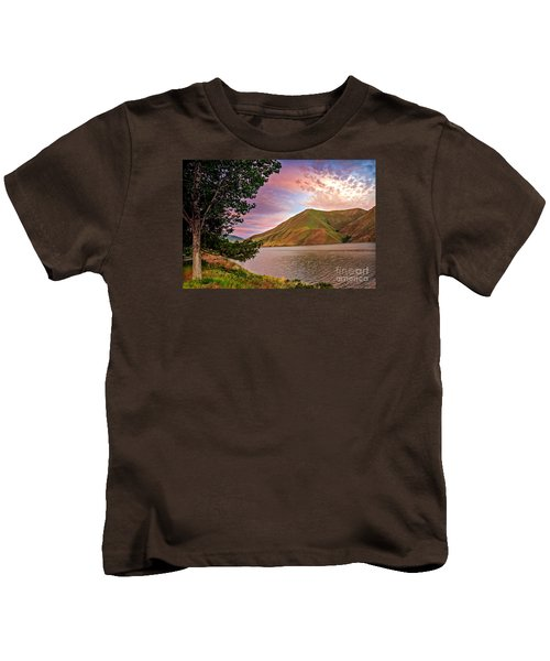 Beautiful Sunrise Kids T-Shirt by Robert Bales
