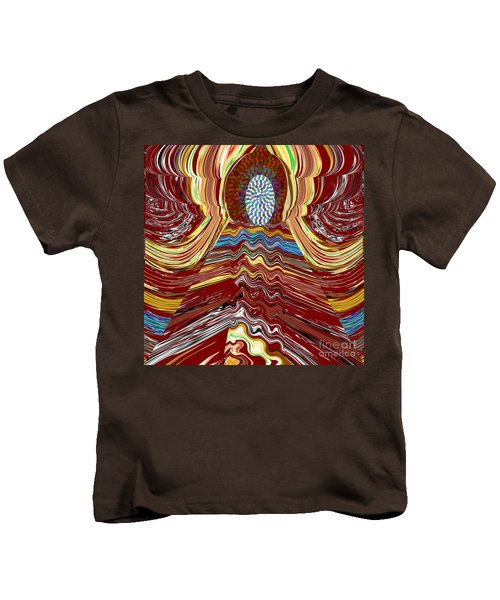 Bridge To Holy Grail Of Mystical Energies Whimisical Abstract By Navinjoshi At Fineartamerica.com  Kids T-Shirt
