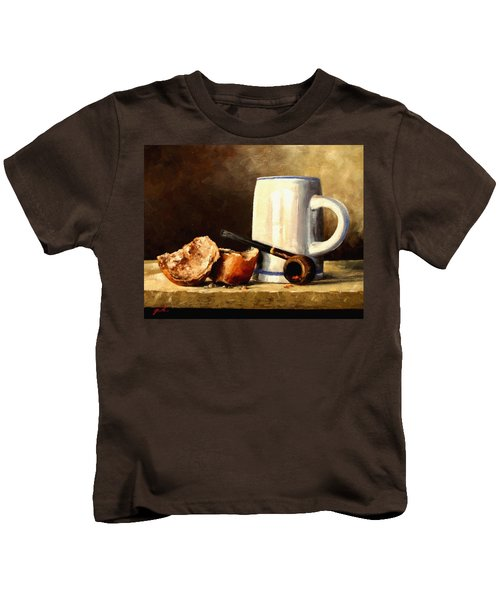 Daily Bread #3 Kids T-Shirt