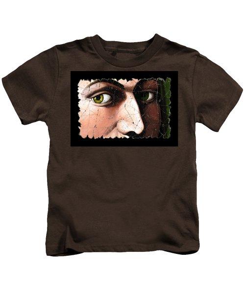 Eyes Of Bindo Altoviti Kids T-Shirt