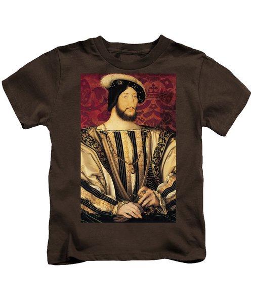 Francois I Kids T-Shirt by Jean Clouet