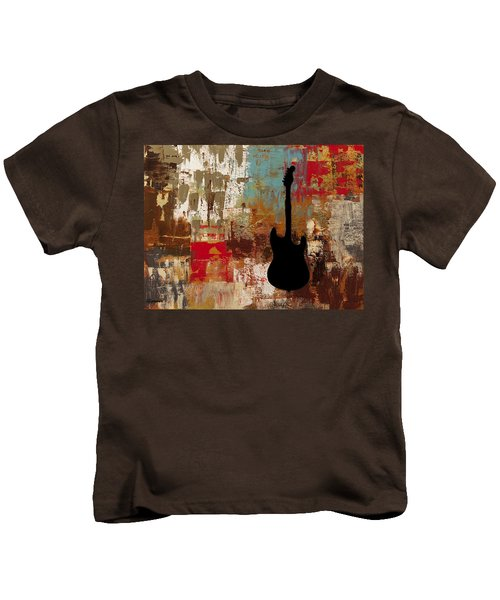 Guitar Solo Kids T-Shirt
