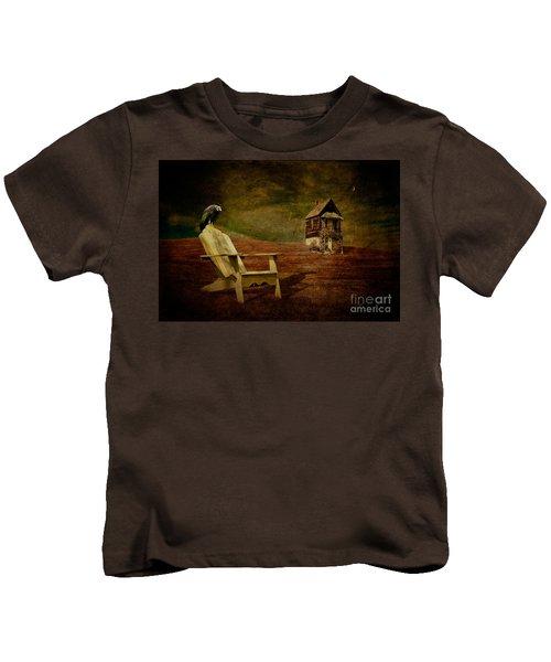 Hard Times Kids T-Shirt by Lois Bryan