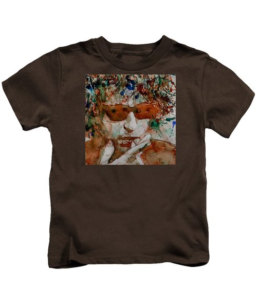 Just Like A Woman Kids T-Shirt by Paul Lovering