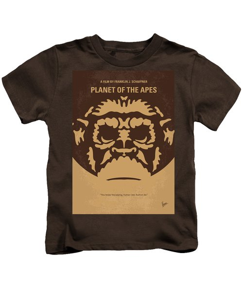 No270 My Planet Of The Apes Minimal Movie Poster Kids T-Shirt