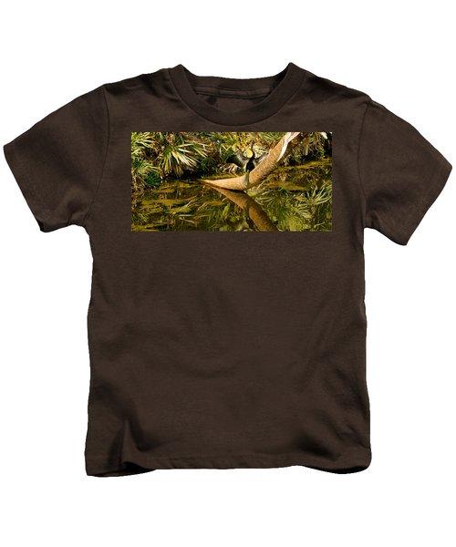 Oriental Darter Anhinga Melanogaster Kids T-Shirt by Panoramic Images