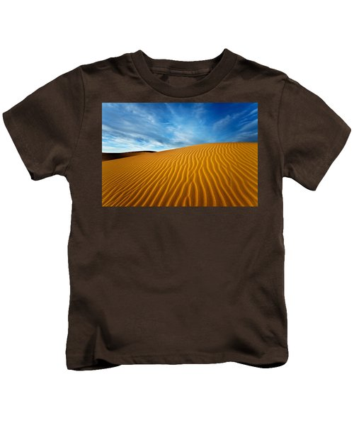 Sands Of Time Kids T-Shirt by Darren  White