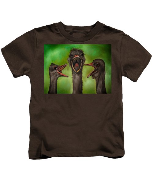 The 3 Tenors Edit 2 Kids T-Shirt by Leah Saulnier The Painting Maniac
