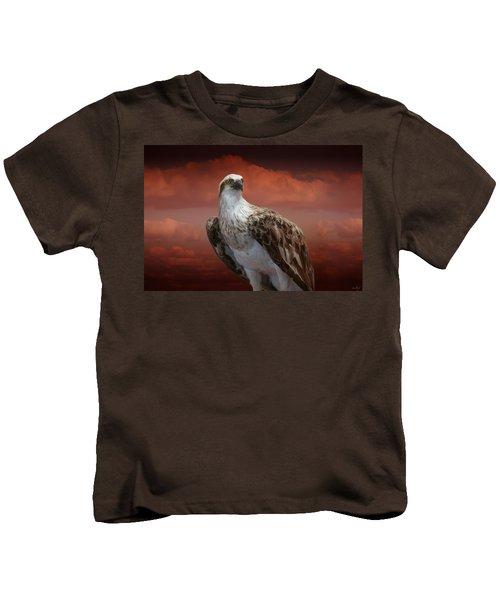 The Glory Of An Eagle Kids T-Shirt