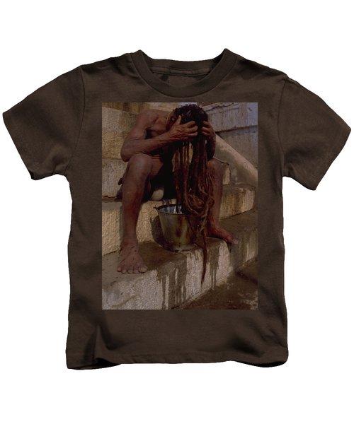 Varanasi Hair Wash Kids T-Shirt
