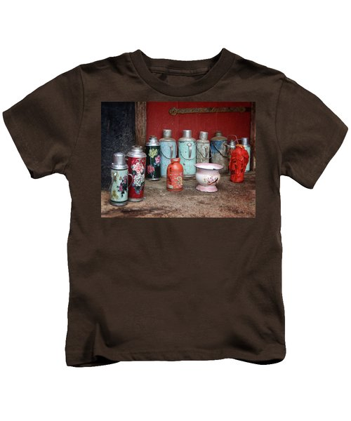 Yak Butter Thermoses Kids T-Shirt