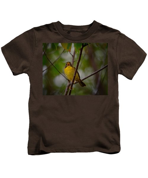 What Warblers Do Kids T-Shirt