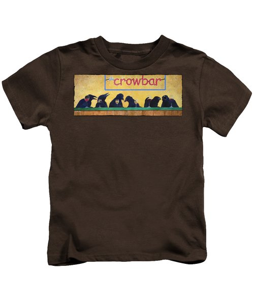 Crowbar Kids T-Shirt by Will Bullas