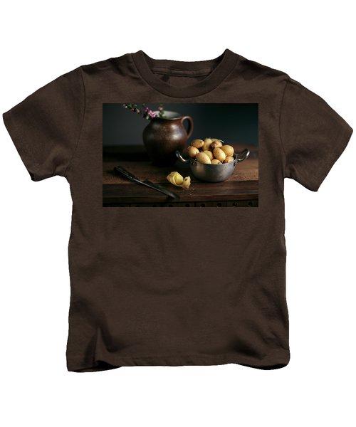 Still Life With Potatoes Kids T-Shirt