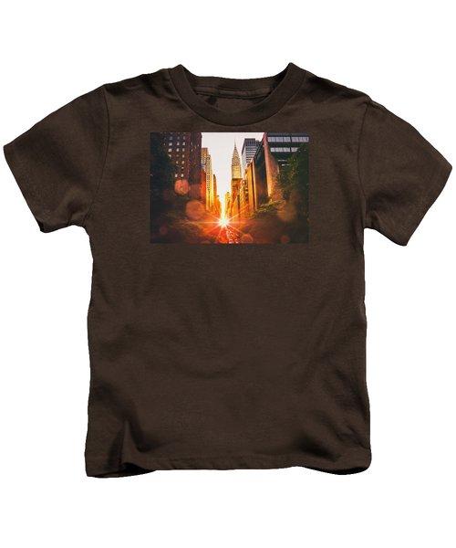 New York City Kids T-Shirt by Vivienne Gucwa