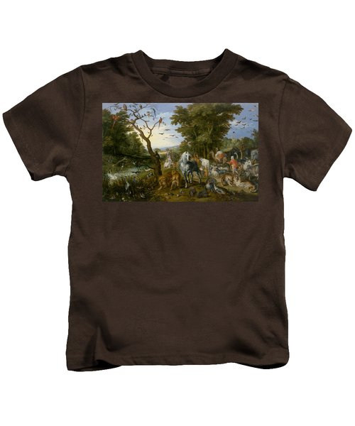 The Entry Of The Animals Into Noah's Ark Kids T-Shirt