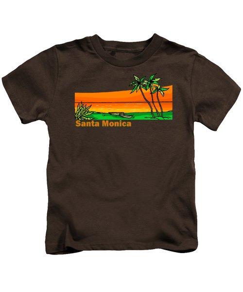 Santa Monica Kids T-Shirt