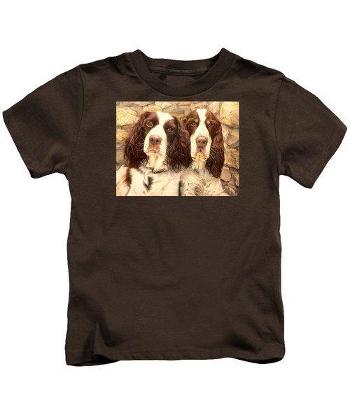 Abby And Romeo Kids T-Shirt