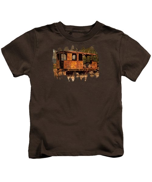 All Aboard To Nowhere Kids T-Shirt