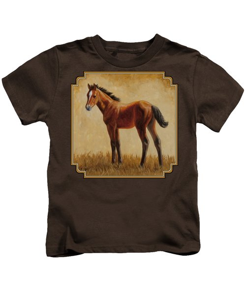 Afternoon Glow Kids T-Shirt by Crista Forest