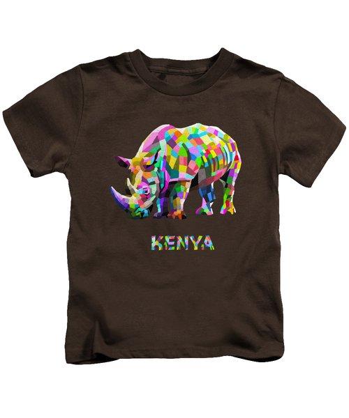 Wild Rainbow Kids T-Shirt