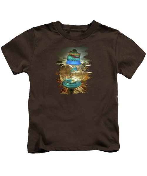 Beach Treasures - Faith Kids T-Shirt by Thom Zehrfeld